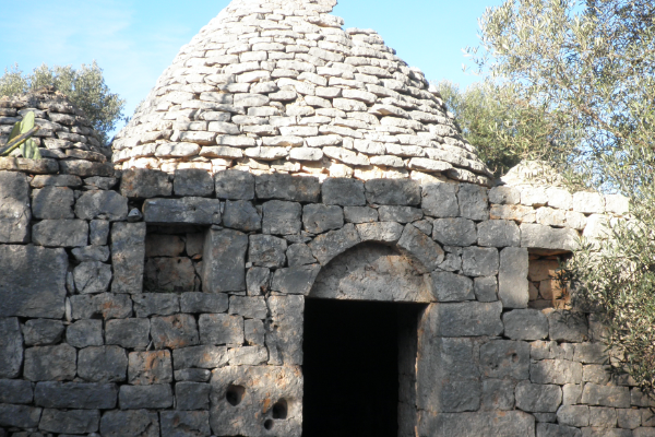 Trullo with possibility of extension for sale near the Natural Reserve of Torre Guaceto in Apulia