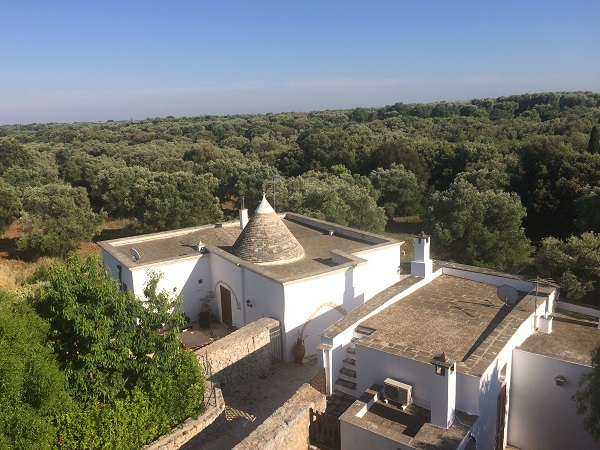 Luxury Colonial House in stone with pool in Puglia